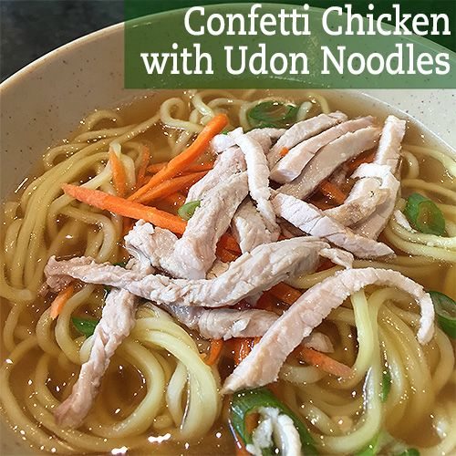 It's a noodle bowl with room for variety! Serves 8-10, 524 calories per serving