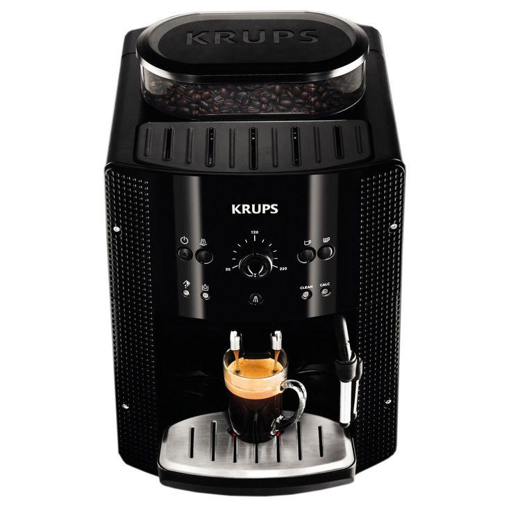 Krups Espresseria Automatic EA8108 - espressorul automat ușor de folosit . Krups este unul dintre numele mari de pe piața de aparate pentru prepararea cafelei, brandul german bucurându-se de o popularitate foarte mare la ni... http://www.gadget-review.ro/krups-espresseria-automatic-ea8108/