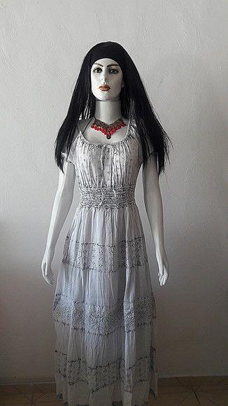 825b80a8d vestido tecido lese manga cigana festa | vestidos e saias de laise ...