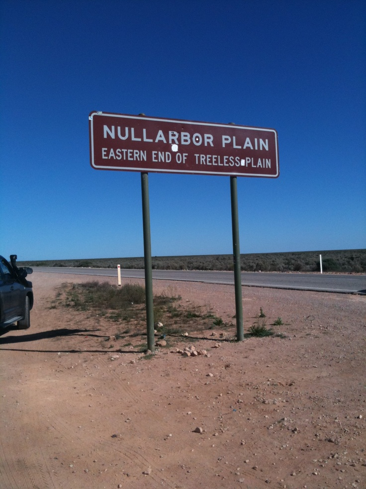 Crossing The Nullabor Plain  South Australia
