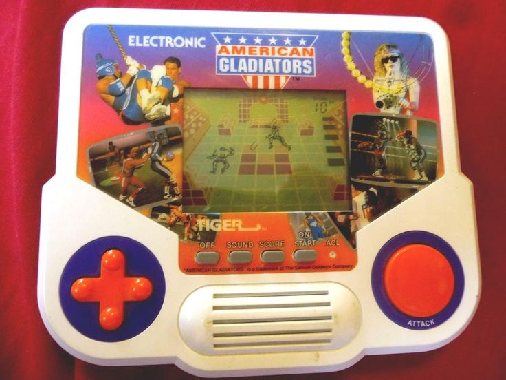 Tiger Electronic American Gladiators Handheld Video Game ...