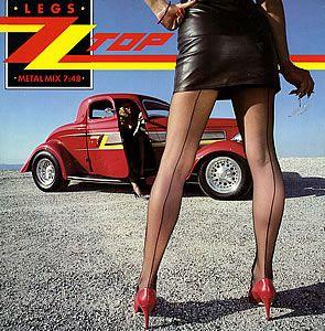 ZZ Top 'Legs' Classic rock music poster ☮~ღ~*~*✿⊱╮ レ o √ 乇 !!