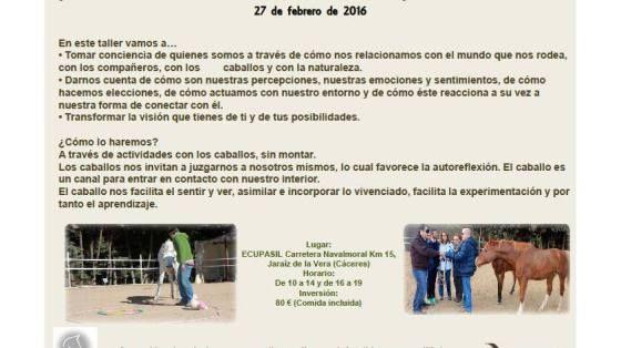 Jornada Coaching Asistido con Caballos en Jaraíz de la Vera