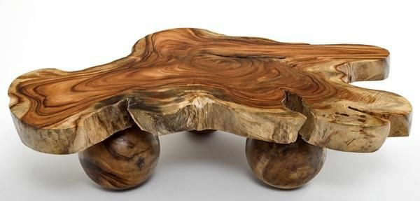 beautiful wood coffee table möbel eiche massiv naturholz dekorativ niedrig