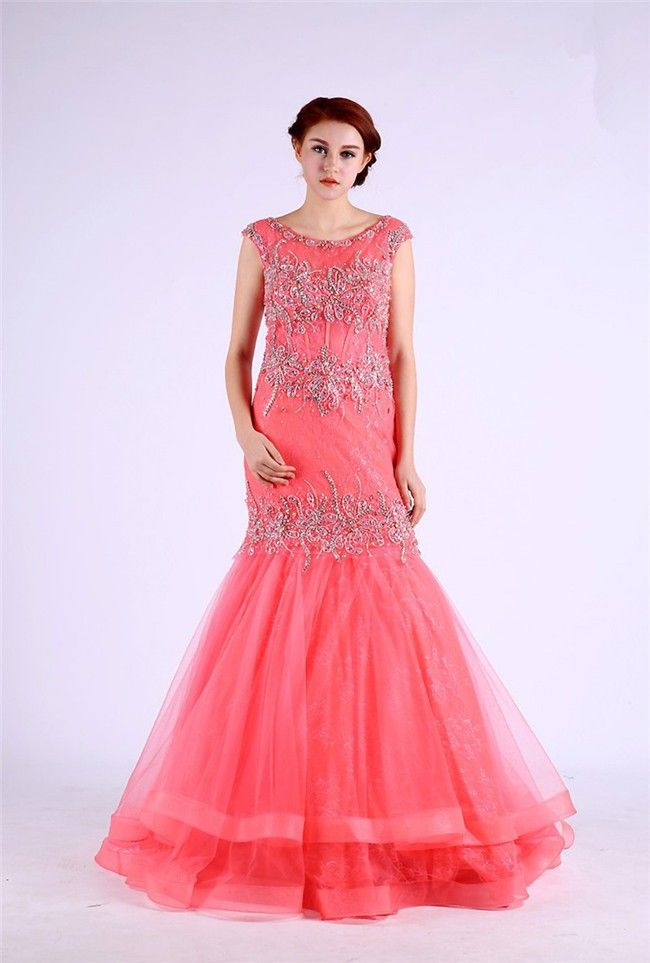 91 best Coral prom dresses images on Pinterest | Coral prom dresses ...