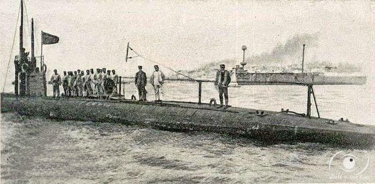 """Submarinos Classe """"Foca"""" (1917-1934)."""