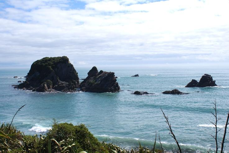Cape Foulwind Sea Stacks and Stumps
