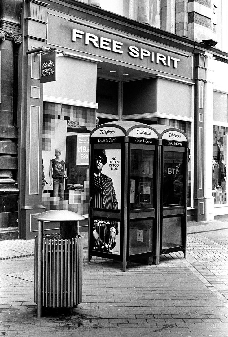 Free Spirit by Keith Moss #street #ilford #film #keithmoss http://keithmoss.co.uk