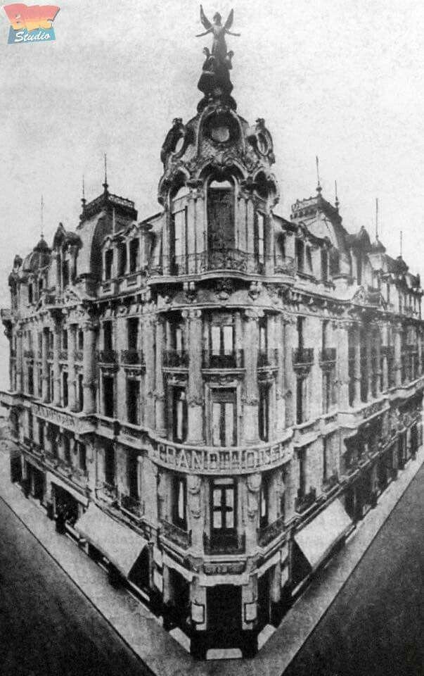 Grand Hotel Rivadavia 589 Arq. Augusto Plou Construido en 1883 Demolido Buenos Aires