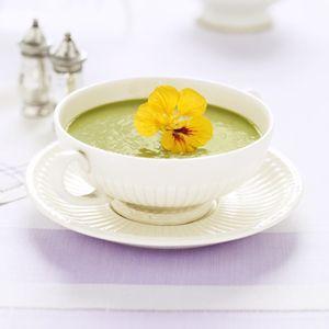 Pea Soup Recipe - Spring Pea Soup - Delish