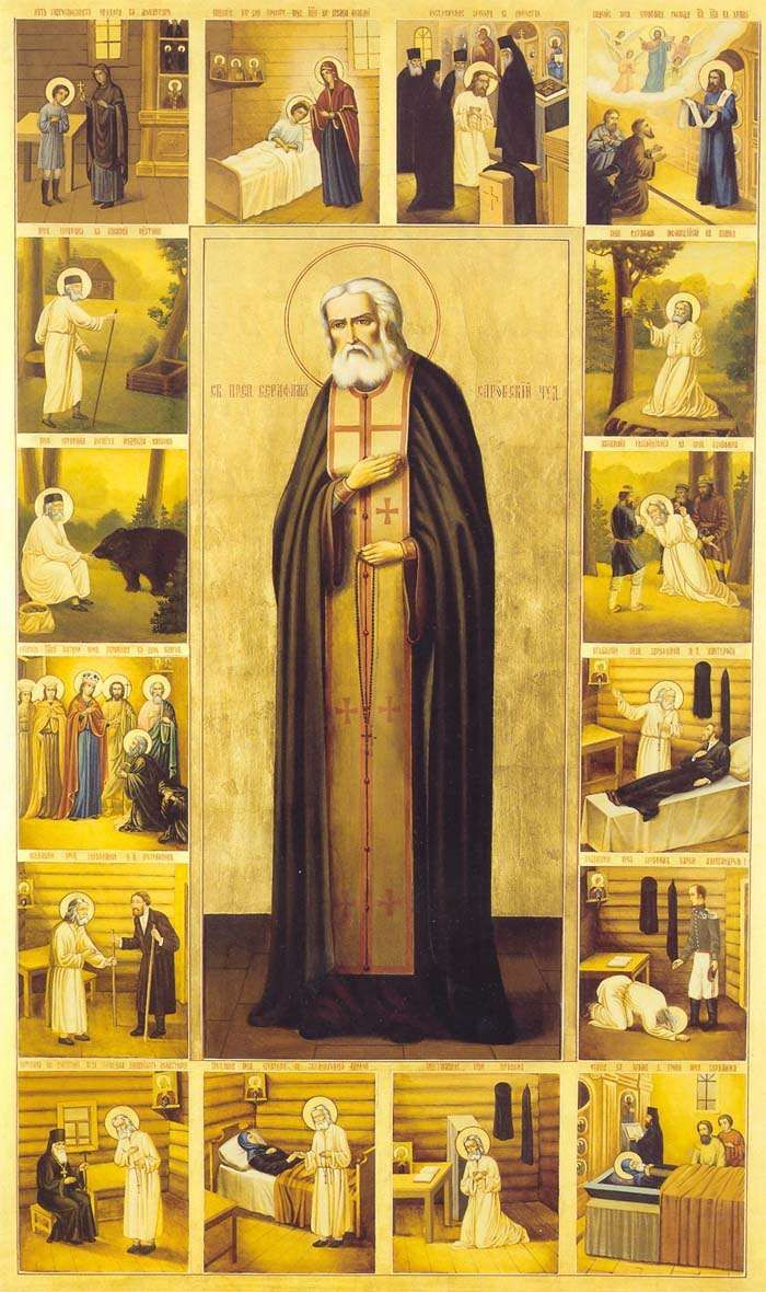 MYSTAGOGY: Saint Seraphim the Wonderworker of Sarov (+ 1833)