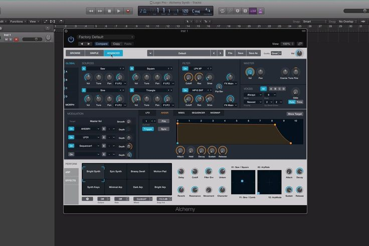 Logic Pro X 10.2: Alchemy Synth