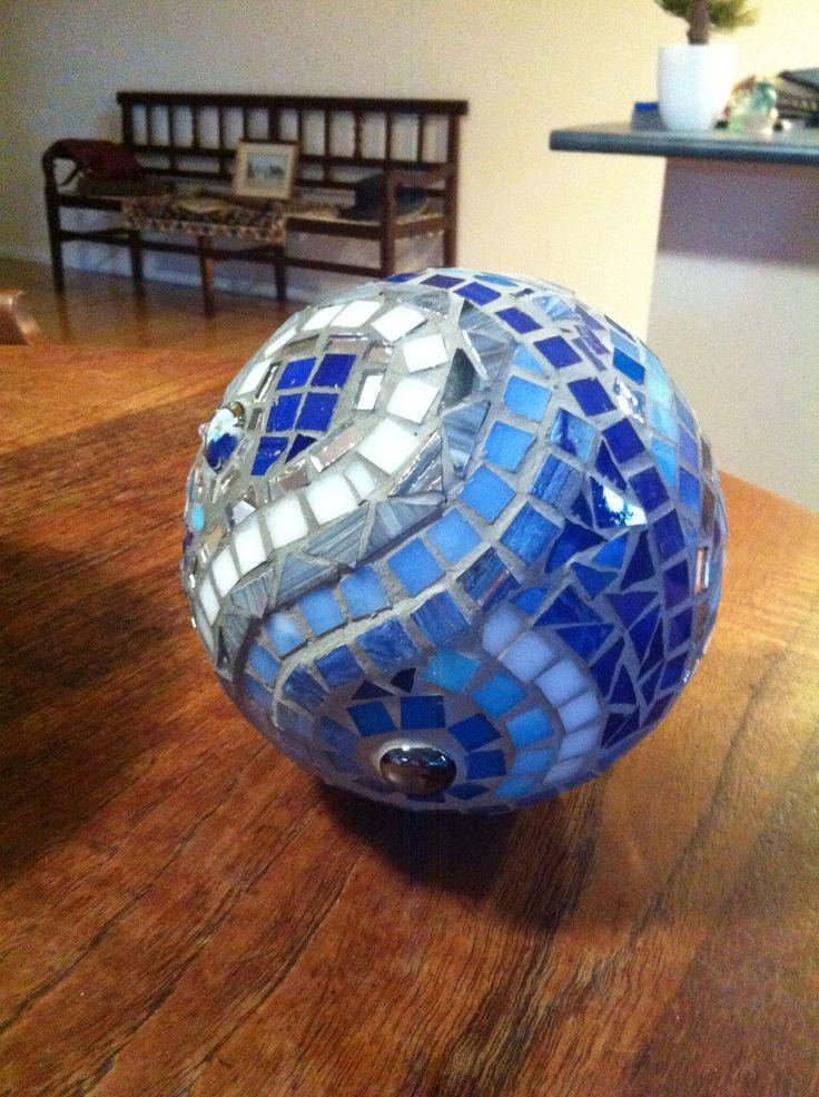 Gazing ball made for Tania