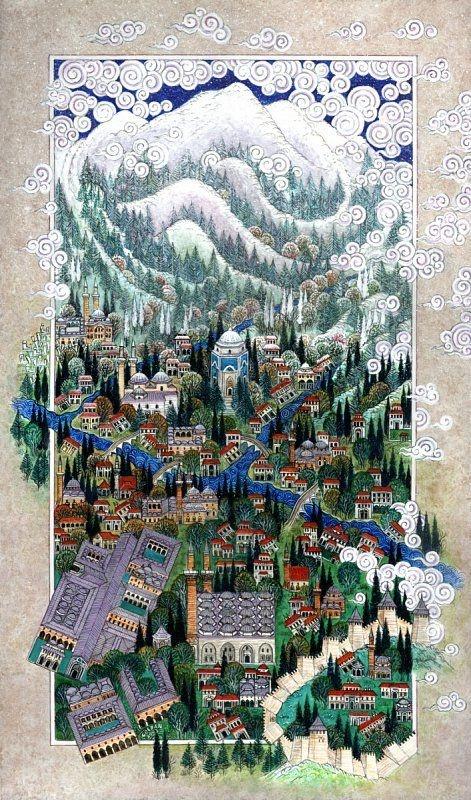 Turkish artist Nusret Çolpan