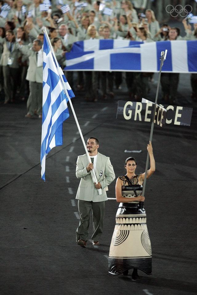 Athens Olympics 2004, Pyrros Dimas