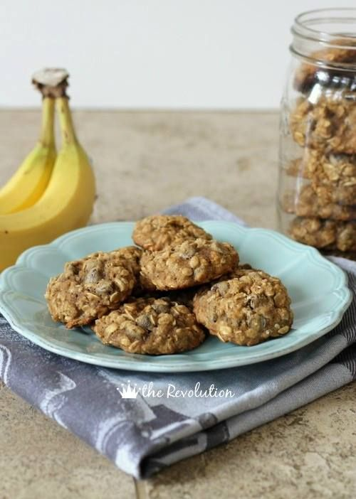 Chocolate Banana Cookies (ONLY 3 INGREDIENTS!!!) easy and HEALTHY!