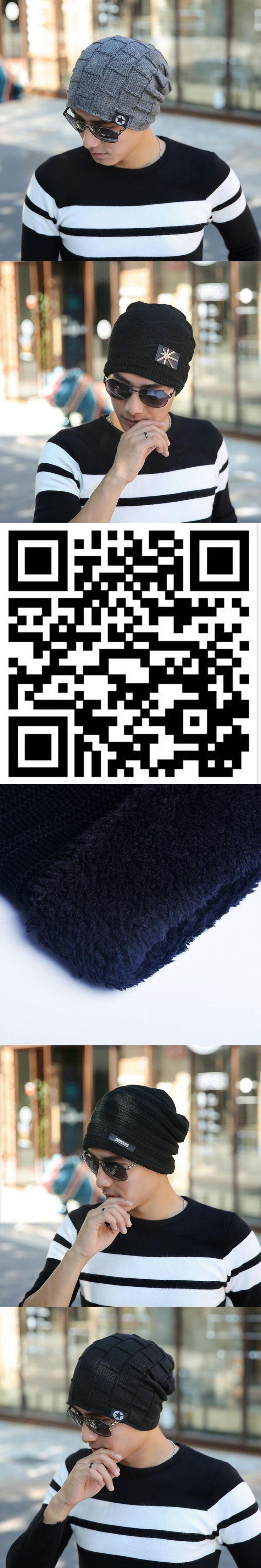 2016 Brand Beanies Knit Winter Hats For Men Women Beanie Men's Winter Hat Caps Bonnet Outdoor Ski Sports Warm Baggy Cap gorros
