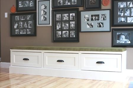 bench seat with drawers 3