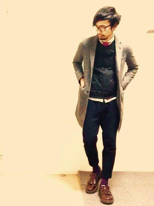 チェスターコート 着こなし メンズ【2015最新】 | 男前研究所
