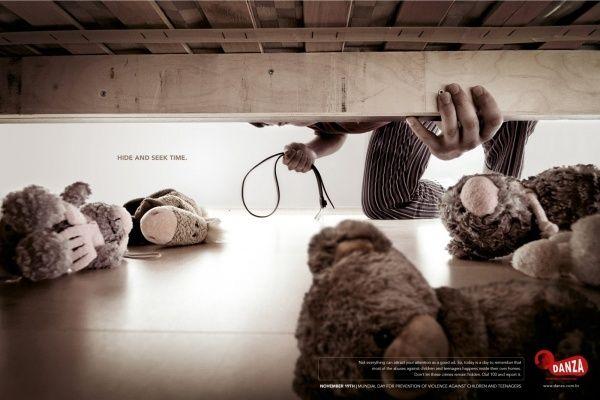 Социальная реклама, направленная на предотвращение насилия