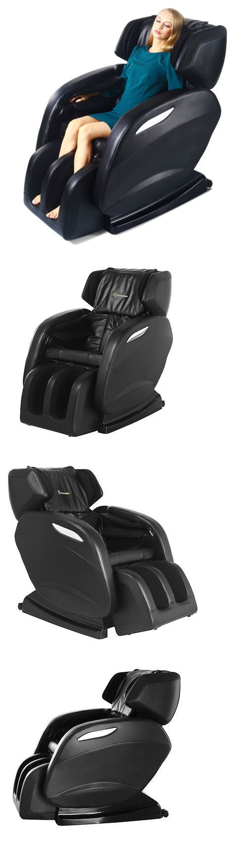 Massagers: Electric Full Body Shiatsu Massage Chair Recliner Zero Gravity With Music Player -> BUY IT NOW ONLY: $499 on eBay!