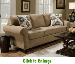 Twillo Bronze Sofa By Corinthian At Furniture Warehouse | The $399 Sofa  Store | Nashville,