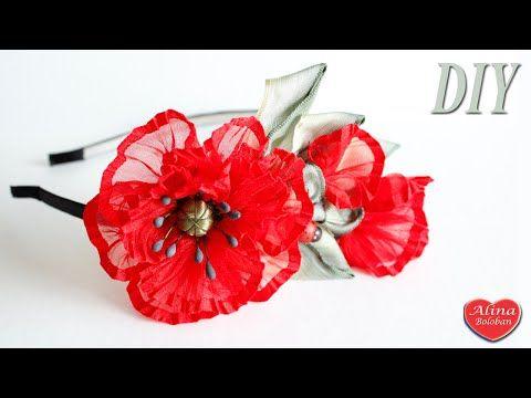 Новогодняя Снежинка из лент 1 см Hand Made / Christmas snowflake on the rim - YouTube