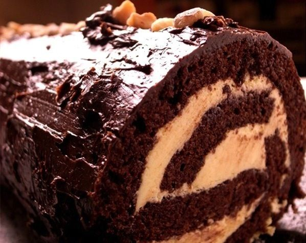 Recipe: Chocolate Yule Log