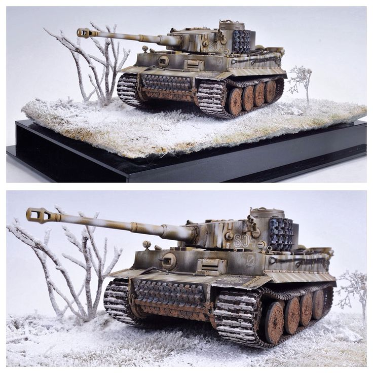 Tiger Early Version by Scott Withers (1/35th scale