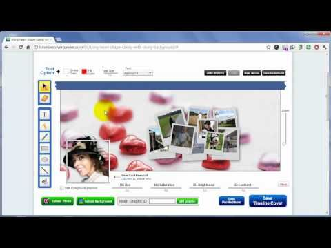 Cómo hacer una portada de biografía Facebook original con fotos creativas (HD, 2012, español)