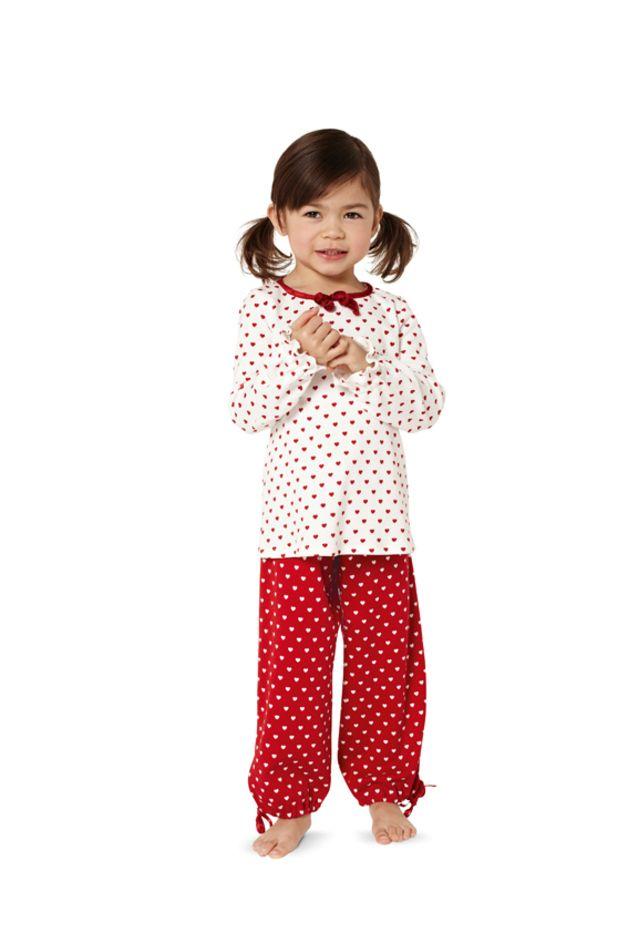 Schnittmuster für Nachthemd & Schlafanzug 9432 | Burda | Pinterest ...