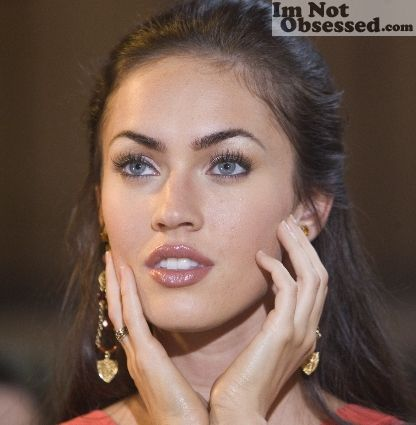 thin eyebrows are the best. period. | Megan fox ...