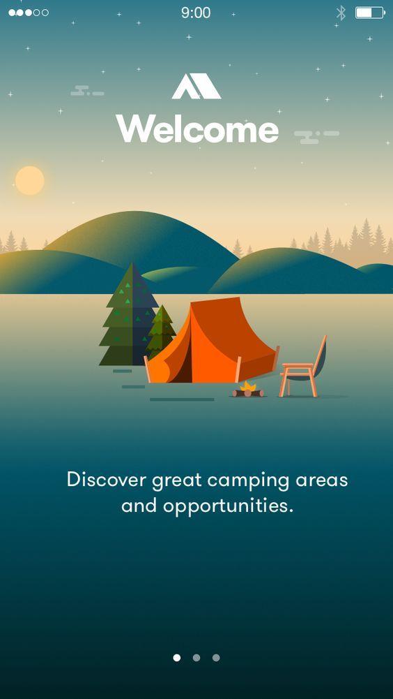 Camping intro: