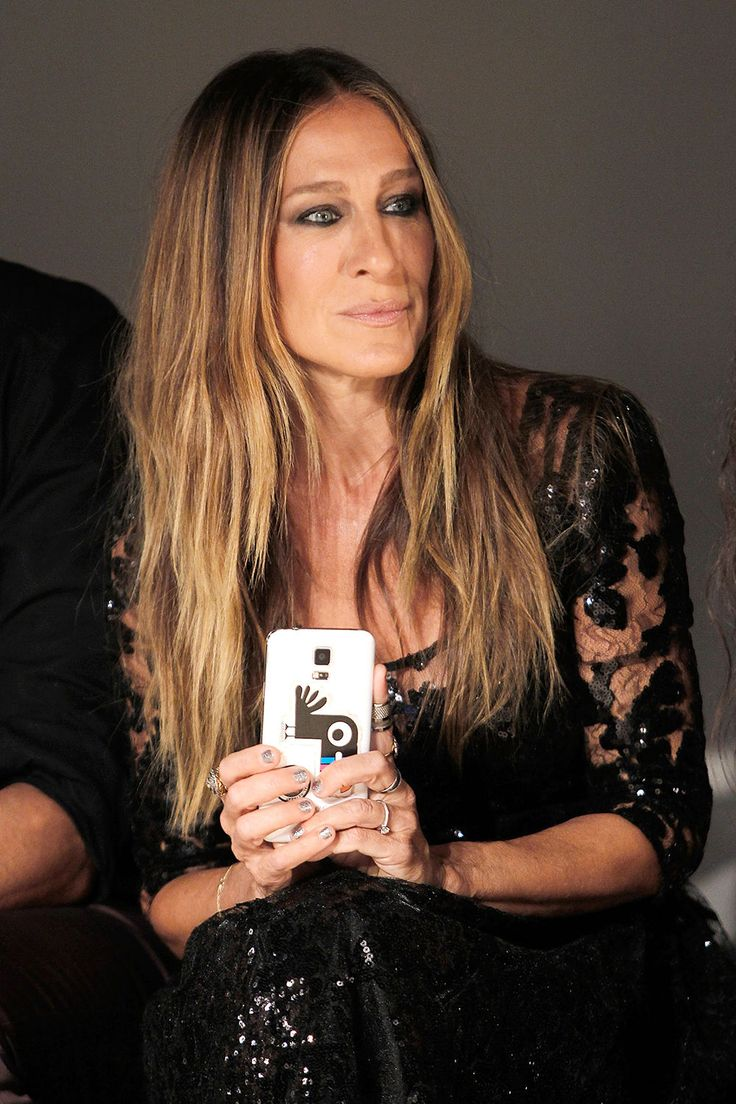 Sarah Jessica Parker, Kelly Rutherford oder Bloggerin Aimee Song: Wer in der Front Row wirklich Looks fotografierte – und wer lieber Selfies knipste #nyfw #sjp // Getty Images