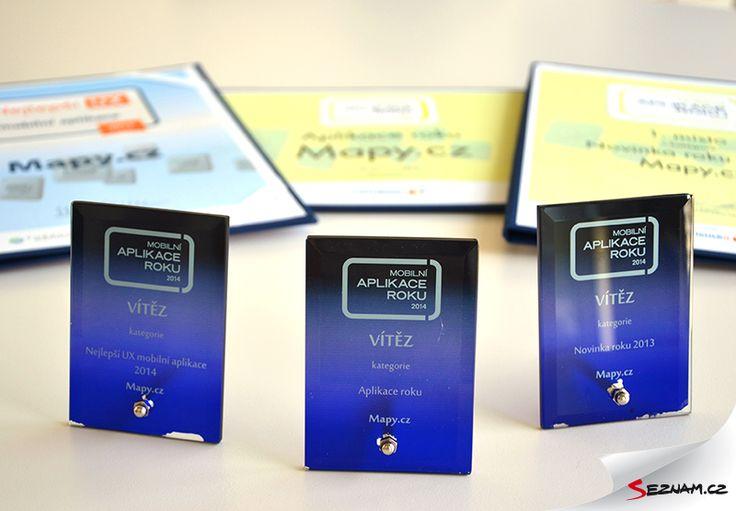 Mobilní aplikace roku. Jinými slovy - zlatý hattrick.