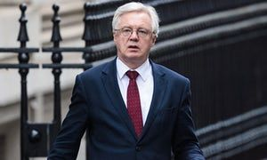 David Davis - Brexit secretary to outline paper setting out how UK plans to leave EU a day after MPs voted to trigger article 50
