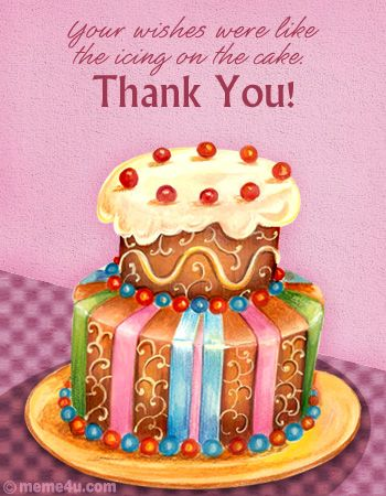 Thanks for the B-Day wishes you made my day