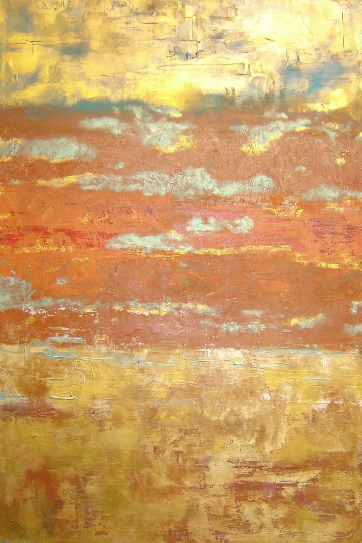 'Moroccan Skies' oil painting by Liz Jameson (sold)
