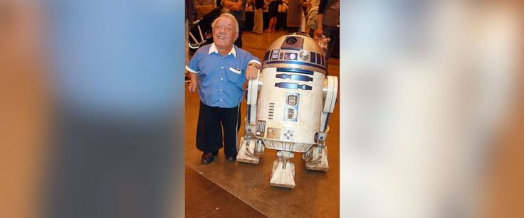 Kenny Baker who played R2D2 dead at 81 yrs. of age pinned from abcnews.com