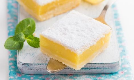 Lemon Marshmallow Slice