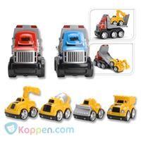 Autolader en auto speelset - Koop nu voor €5,99 bij Koppen.com Autolader en auto speelset. Laadt de kleine auto op de grote truck en breng hem naar de plaats van bestemming. De rode en blauwe auto's worden door elkaar geleverd met één geel autootje erop. Onder de categorie auto's en andere voertuigen naar meer vergelijkbare artikelen. - See more at: http://www.koppen.com/producten/product/autolader-en-auto-speelset#sthash.f8wml08d.dpuf