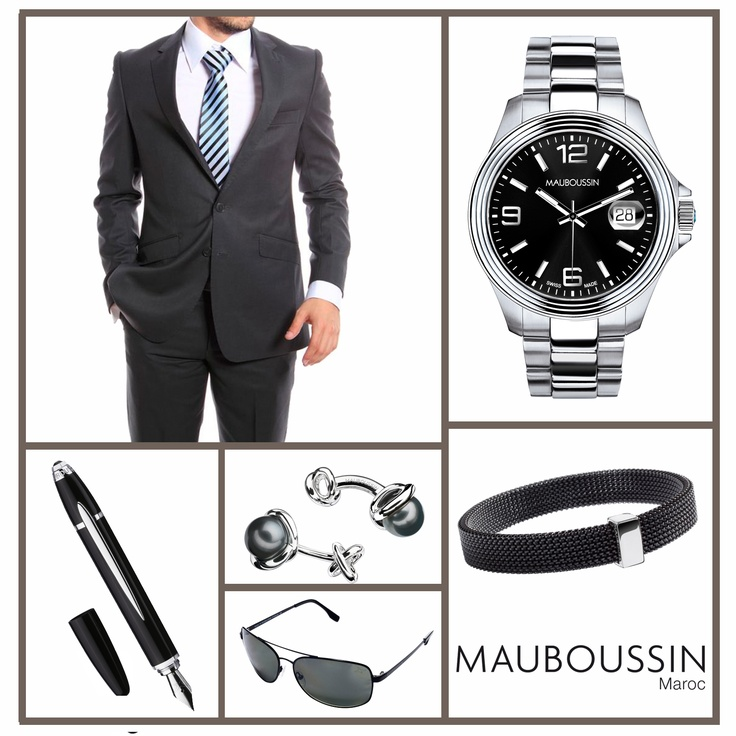 id es cadeaux mauboussin pour la f tes des p res une montre homme d 39 humour un stylo le. Black Bedroom Furniture Sets. Home Design Ideas