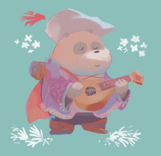 Fantasy We Bare Bears Panda By Louie Zong