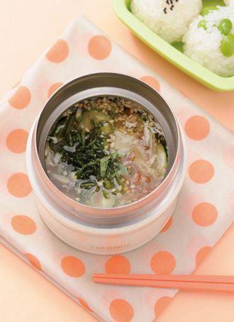 ツナ缶で簡単冷や汁