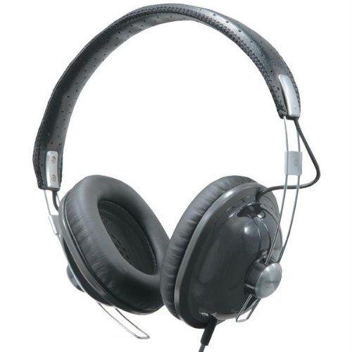 Panasonic RP-HTX7-K1 RETRO STYLE MONITOR HEADPHONE BLACK W/SINGLE SIDE CORD
