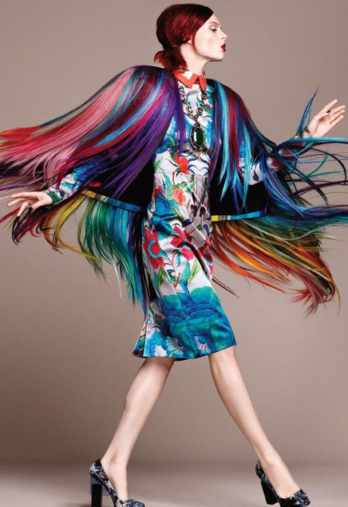 Coco Rocha by Regan Cameron & David Roemer for Vogue México December 2012. /s/