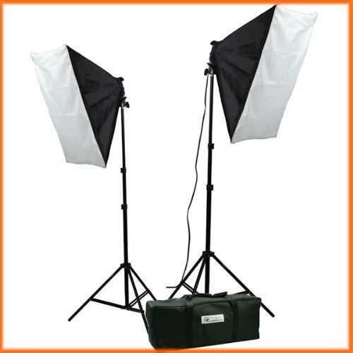 These lights are great for taking pictures of your wreaths inside. No more waiting for the perfect sunlight! I have 4 total, two boxes on each side of my wreath and 1 below it.  ePhoto Video Studio Photography Lighting kit softbox light kit video lighting kit CASE H9004S