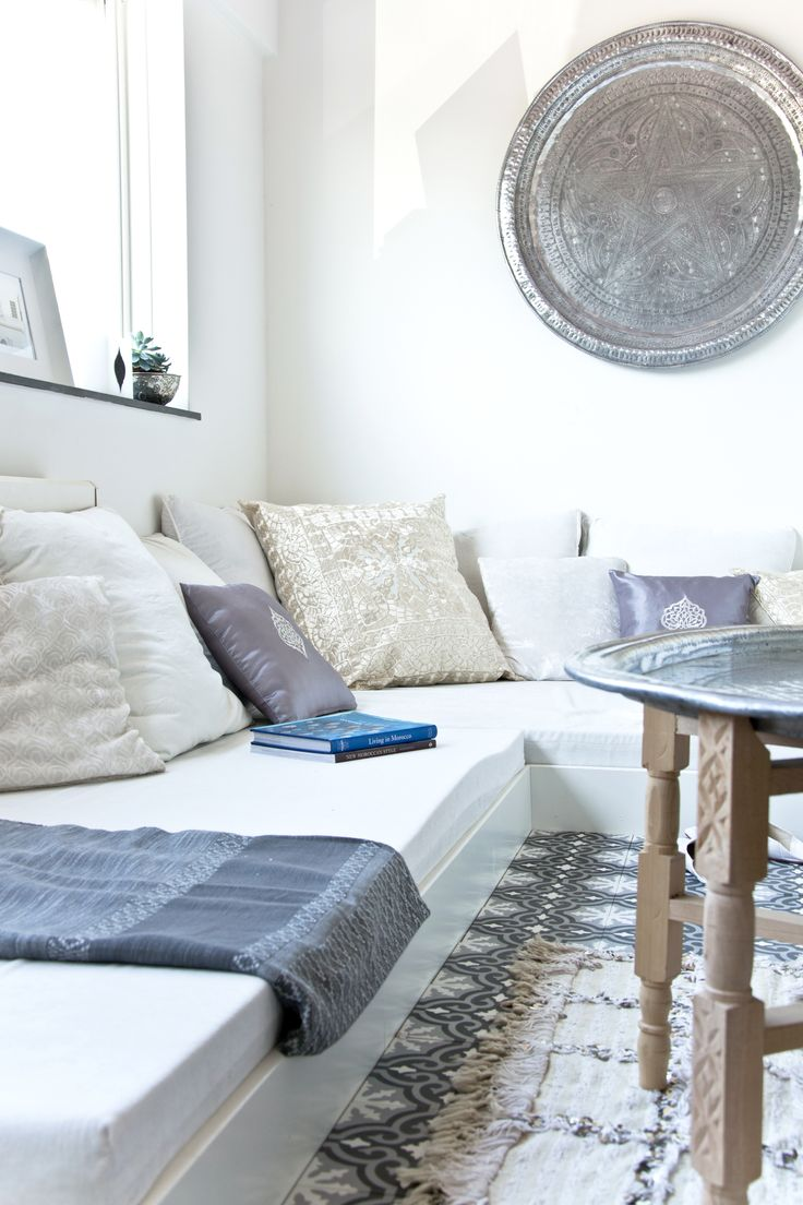 ...detail of a lovely lounge with a Moroccan touch.. www.elramlahamra.nl