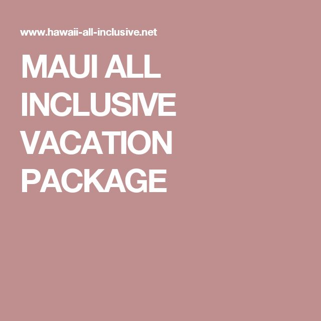 What Day Is The Best To Book An All Inclusive Vacation