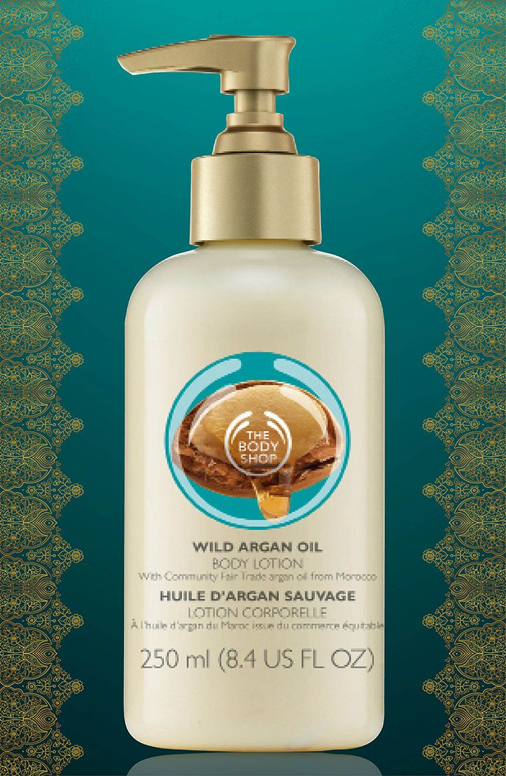 Lightweight hydrating lotion enriched with Community Fair Trade wild argan oil from Morocco. 250 ml/R110.00 RRP